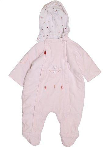 Mono-polar niña BERLINGOT blanco 6 meses invierno #1398072_1