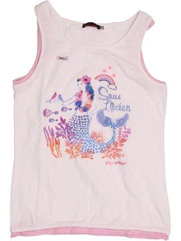 Camiseta sin mangas niña CATIMINI rosa 14 años verano #1398345_1