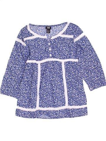Blusa de manga corta niña H&M violeta 14 años verano #1398359_1