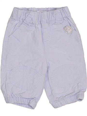 Pantalon garçon VERTBAUDET blanc 1 mois hiver #1398495_1
