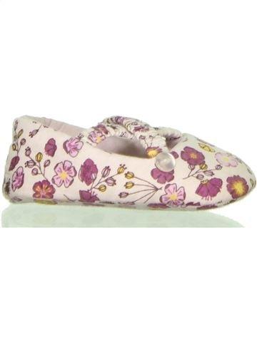 Zapatos bebe niña OKAIDI blanco 6 meses verano #1398526_1