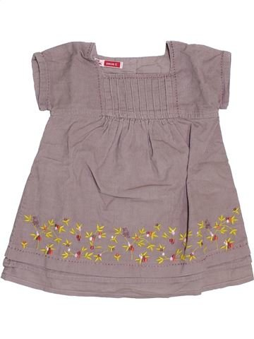 Robe fille DPAM gris 6 mois hiver #1398596_1