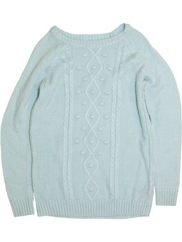 Pull fille H&M gris 14 ans hiver #1398783_1