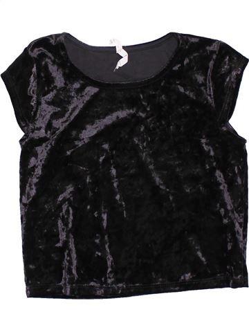 Camiseta de manga corta niña PRIMARK negro 10 años invierno #1398795_1