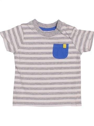 T-shirt manches courtes garçon GEORGE blanc 9 mois été #1398992_1