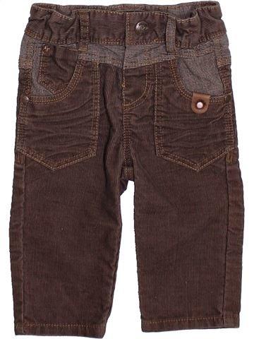 Pantalon garçon CATIMINI marron 6 mois hiver #1399205_1