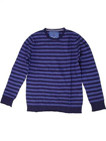 Pull garçon ZARA violet 6 ans hiver #1399476_1