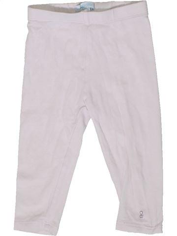 Legging fille OKAIDI blanc 9 mois hiver #1399573_1