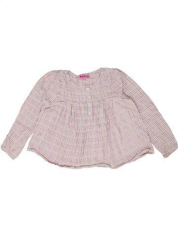 Blusa de manga larga niña KIABI rosa 8 años invierno #1399660_1