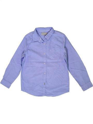Chemise manches longues garçon ZARA bleu 7 ans hiver #1399691_1