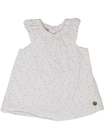 Robe fille DPAM blanc 3 mois hiver #1399772_1