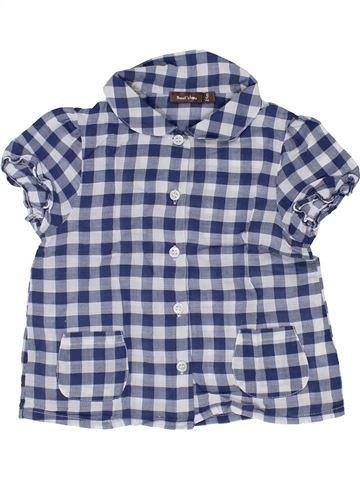 Blusa de manga corta niña BOUT'CHOU gris 2 años verano #1399819_1