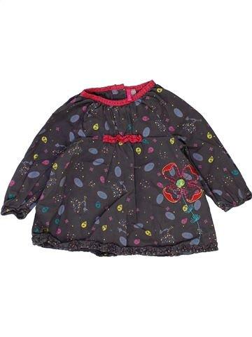 Blusa de manga larga niña ORCHESTRA gris 6 meses invierno #1399830_1
