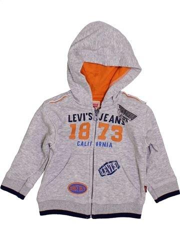 Sudadera niño LEVI'S gris 12 meses invierno #1399894_1