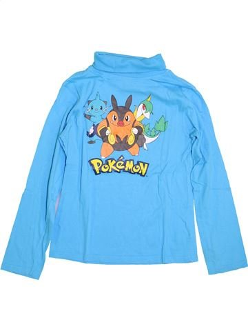 T-shirt col roulé garçon POKEMON bleu 12 ans hiver #1400030_1