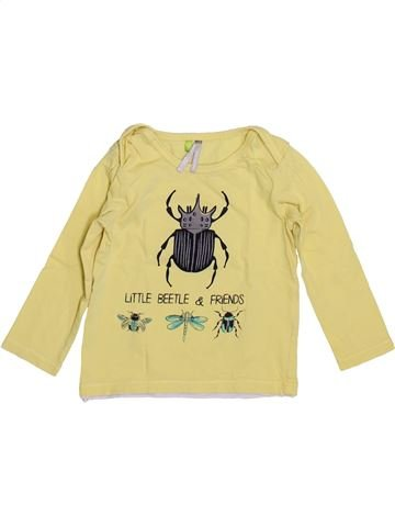 T-shirt manches longues garçon ORCHESTRA beige 18 mois hiver #1400121_1