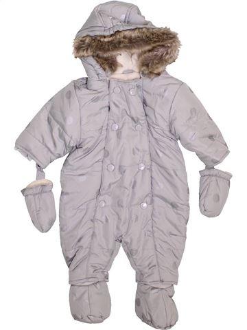 Mono-polar niña VERTBAUDET gris 3 meses invierno #1400190_1