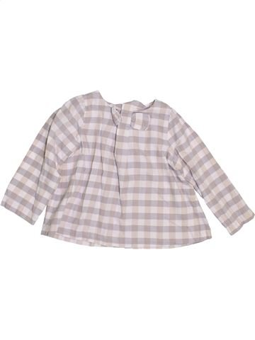 Blouse manches longues fille JACADI rose 3 ans hiver #1400195_1