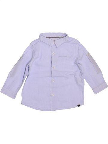 Chemise manches longues garçon ZARA gris 9 mois hiver #1400239_1