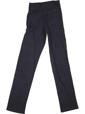 Pantalón niña PETIT BATEAU negro 14 años invierno #1400290_1