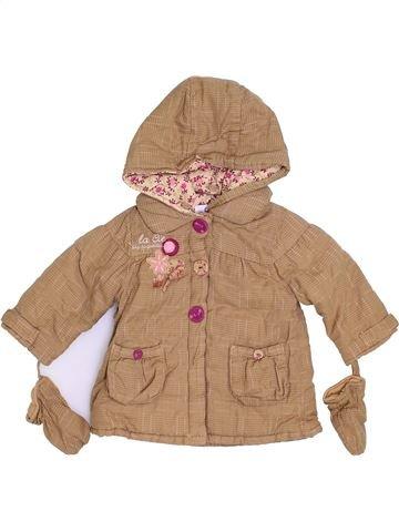 Abrigo niña LA COMPAGNIE DES PETITS marrón 6 meses invierno #1400327_1