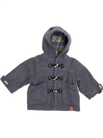 Manteau garçon OKAIDI gris 6 mois hiver #1400375_1
