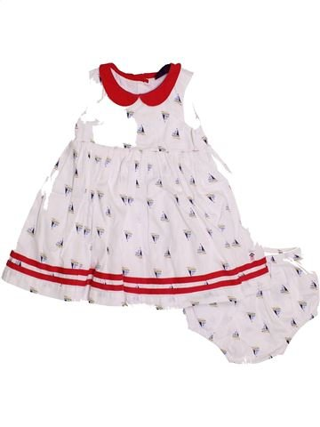 Robe fille SERGENT MAJOR blanc 2 ans été #1400467_1