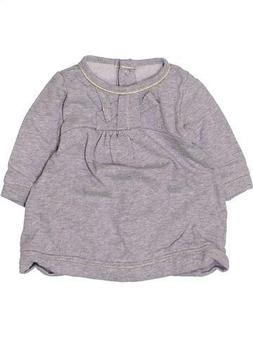 Vestido niña JEAN BOURGET gris 3 meses invierno #1400524_1