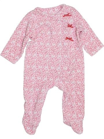 Pijama de 1 pieza niña TAPE À L'OEIL rosa 6 meses invierno #1400537_1