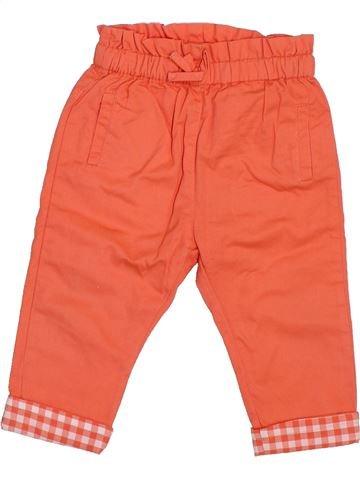 Pantalon fille DPAM orange 12 mois été #1400564_1