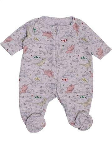 Pijama de 1 pieza niño NATALYS gris 0 meses verano #1400593_1