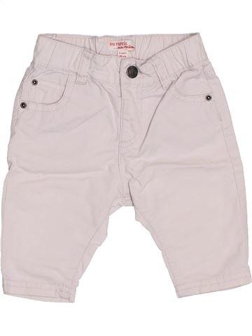 Pantalon garçon DPAM violet 3 mois été #1400603_1