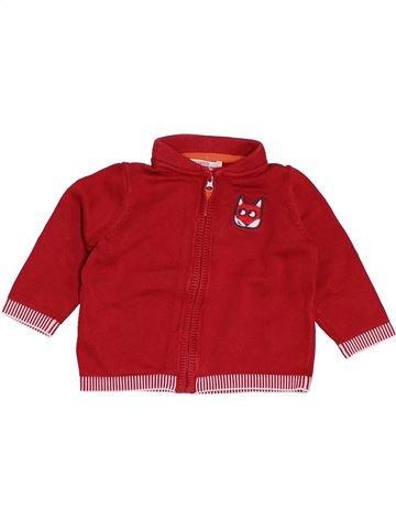 Chaleco niño DPAM rojo 9 meses invierno #1400616_1