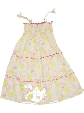 Robe fille SERGENT MAJOR beige 8 ans été #1400684_1