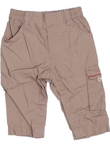 Pantalon garçon P'TIT BISOU marron 6 mois été #1400745_1