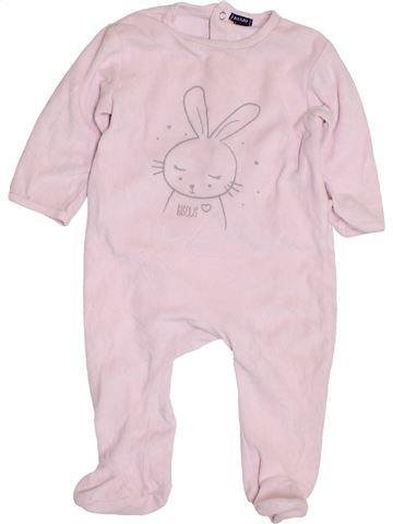 Pijama de 1 pieza niña KIABI blanco 12 meses invierno #1400773_1