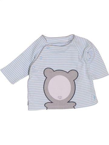 Camiseta de manga larga niño OKAIDI blanco 3 meses invierno #1400789_1