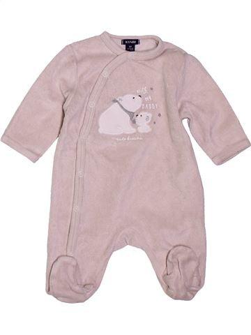 Pyjama 1 pièce garçon KIABI gris 1 mois hiver #1400816_1