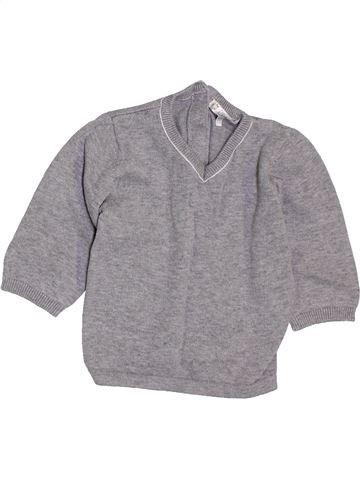 Pull garçon KIABI gris 12 mois hiver #1400825_1