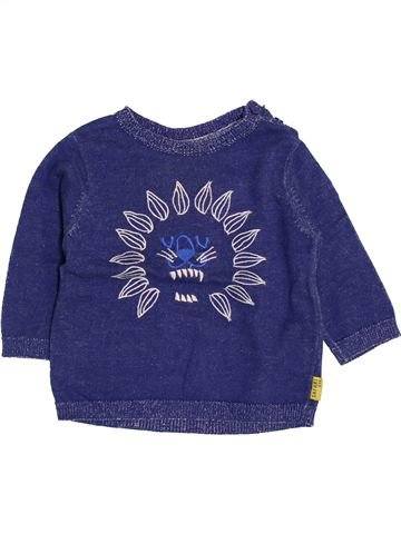 Pull garçon DPAM bleu 12 mois hiver #1400879_1