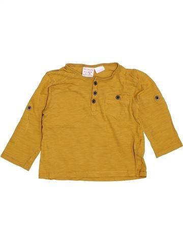 Camiseta de manga larga niño ZARA marrón 18 meses invierno #1400881_1