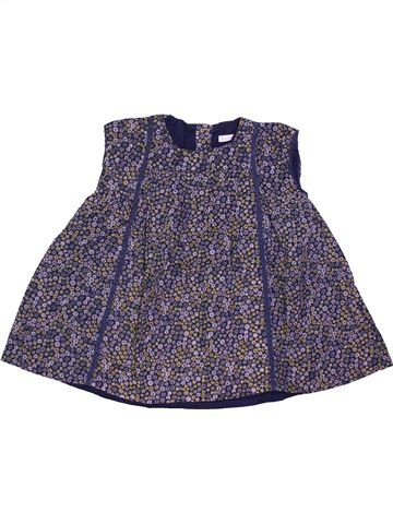 Robe fille BOUT'CHOU violet 9 mois hiver #1400893_1