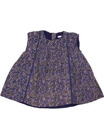 Vestido niña BOUT'CHOU violeta 9 meses invierno #1400893_1