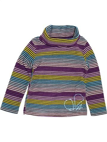 Pull fille LONGBOARD gris 5 ans hiver #1400927_1