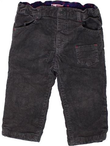 Pantalón niña DPAM negro 12 meses invierno #1400962_1