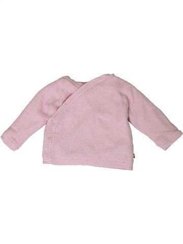 Chaleco niña TAPE À L'OEIL rosa 12 meses invierno #1401018_1