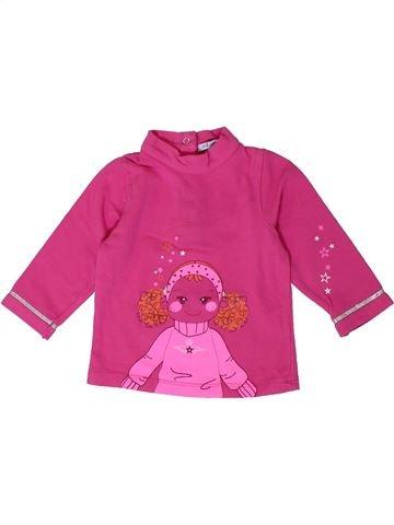Camiseta de manga larga niña PREMAMAN rosa 6 meses invierno #1401038_1