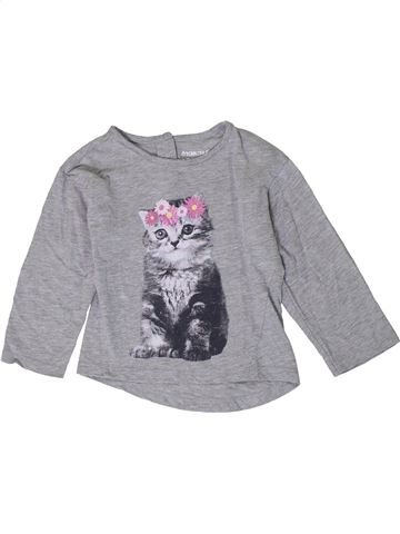 Camiseta de manga larga niña ORCHESTRA gris 2 años invierno #1401098_1