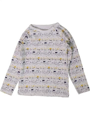 T-shirt manches longues garçon KIABI gris 3 ans hiver #1401133_1