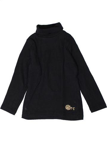 T-shirt col roulé fille ORCHESTRA noir 3 ans hiver #1401172_1